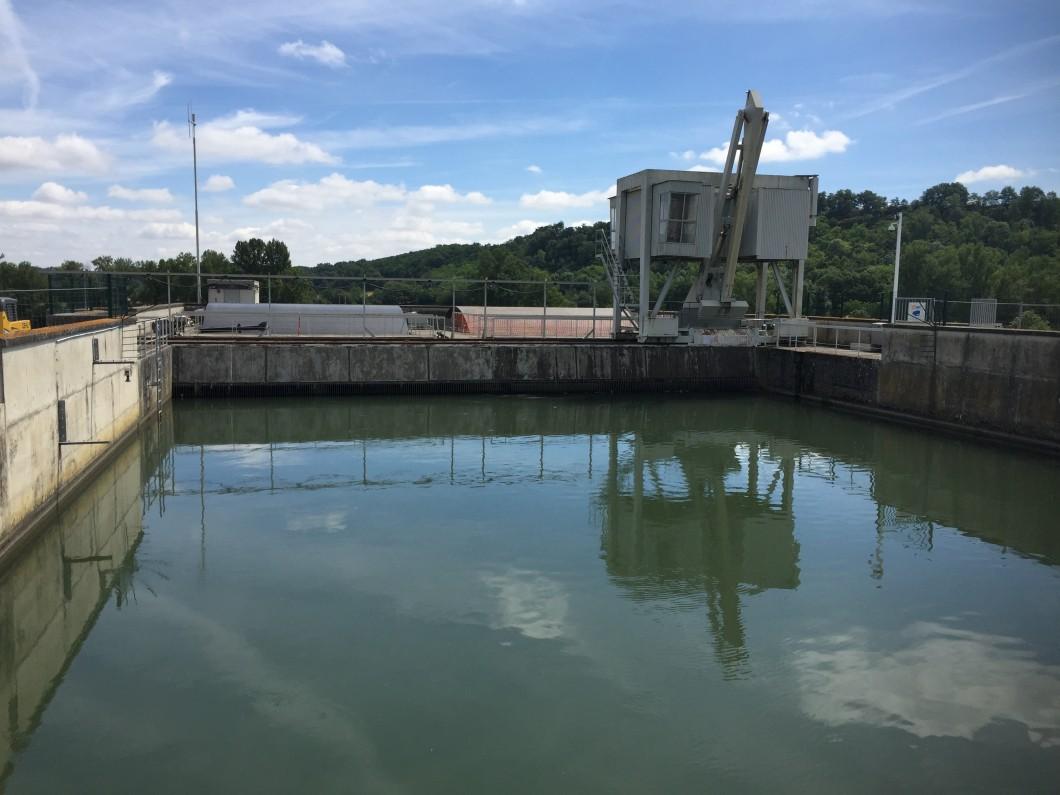 Centrale EDF à Saint Julien sur Garonne (31)